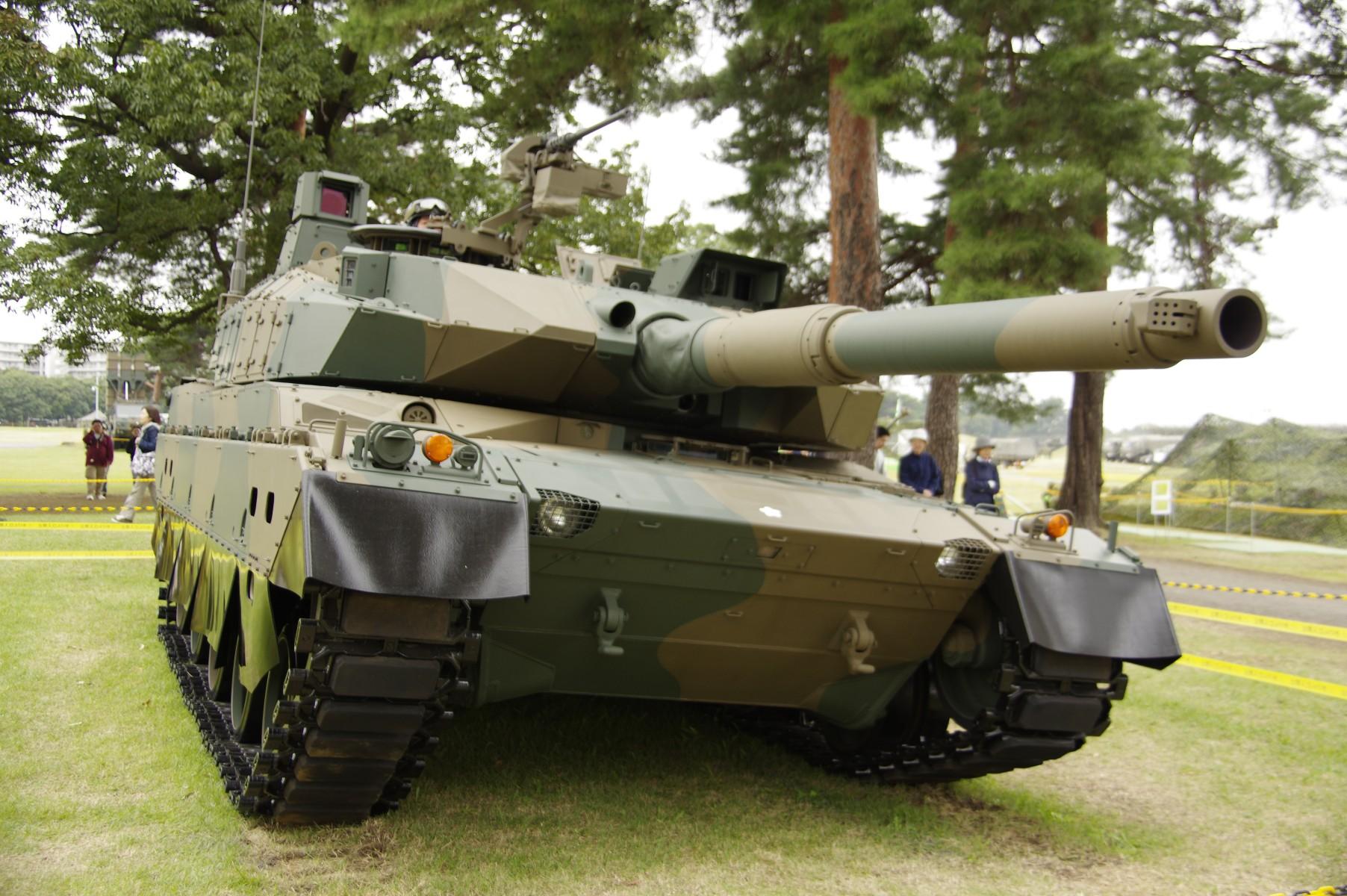 戦車の模様