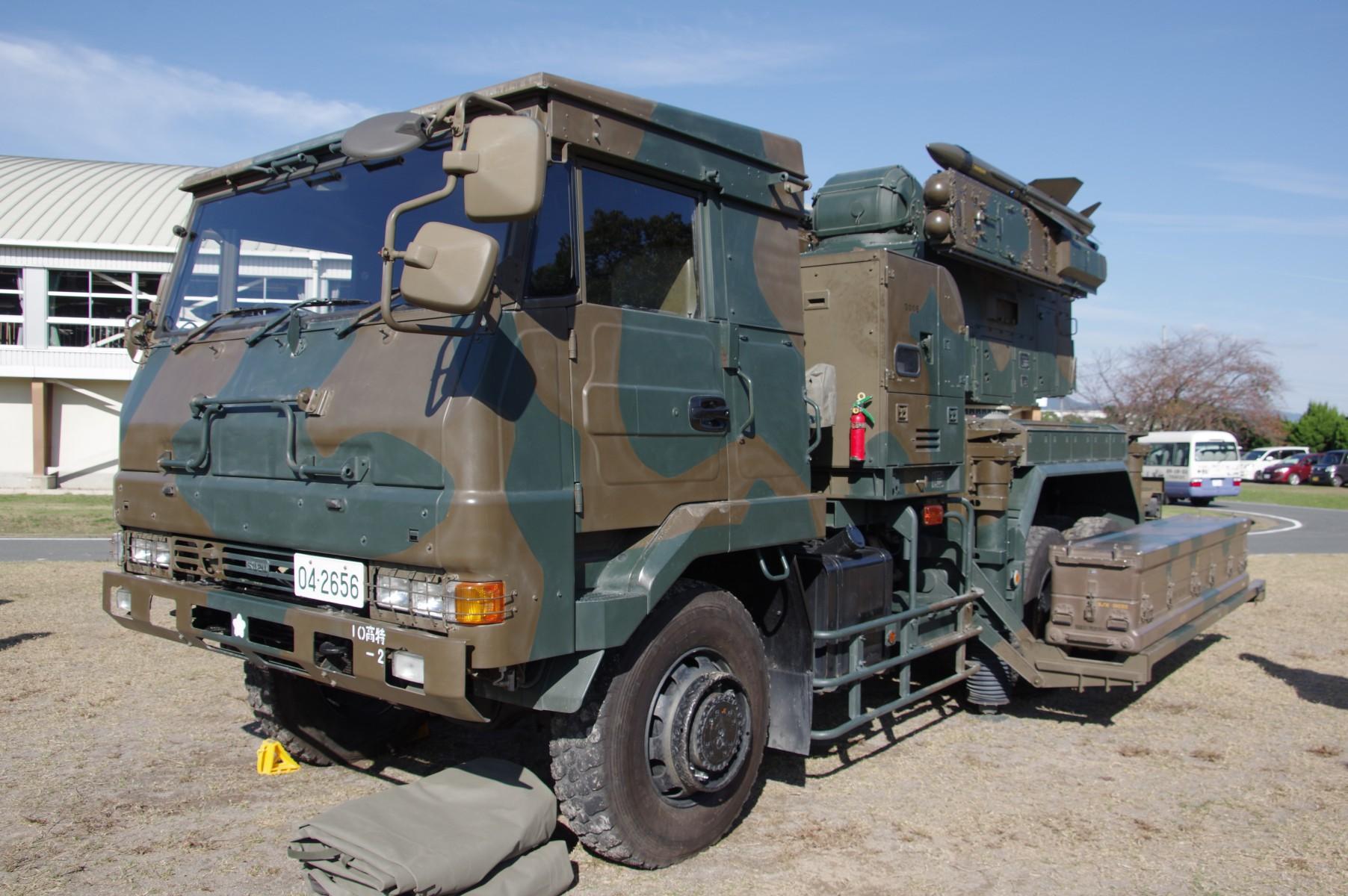 81式短距離地対空誘導弾(C)|81短SAM・SAM-1|陸上自衛隊装備品|陸自 ...