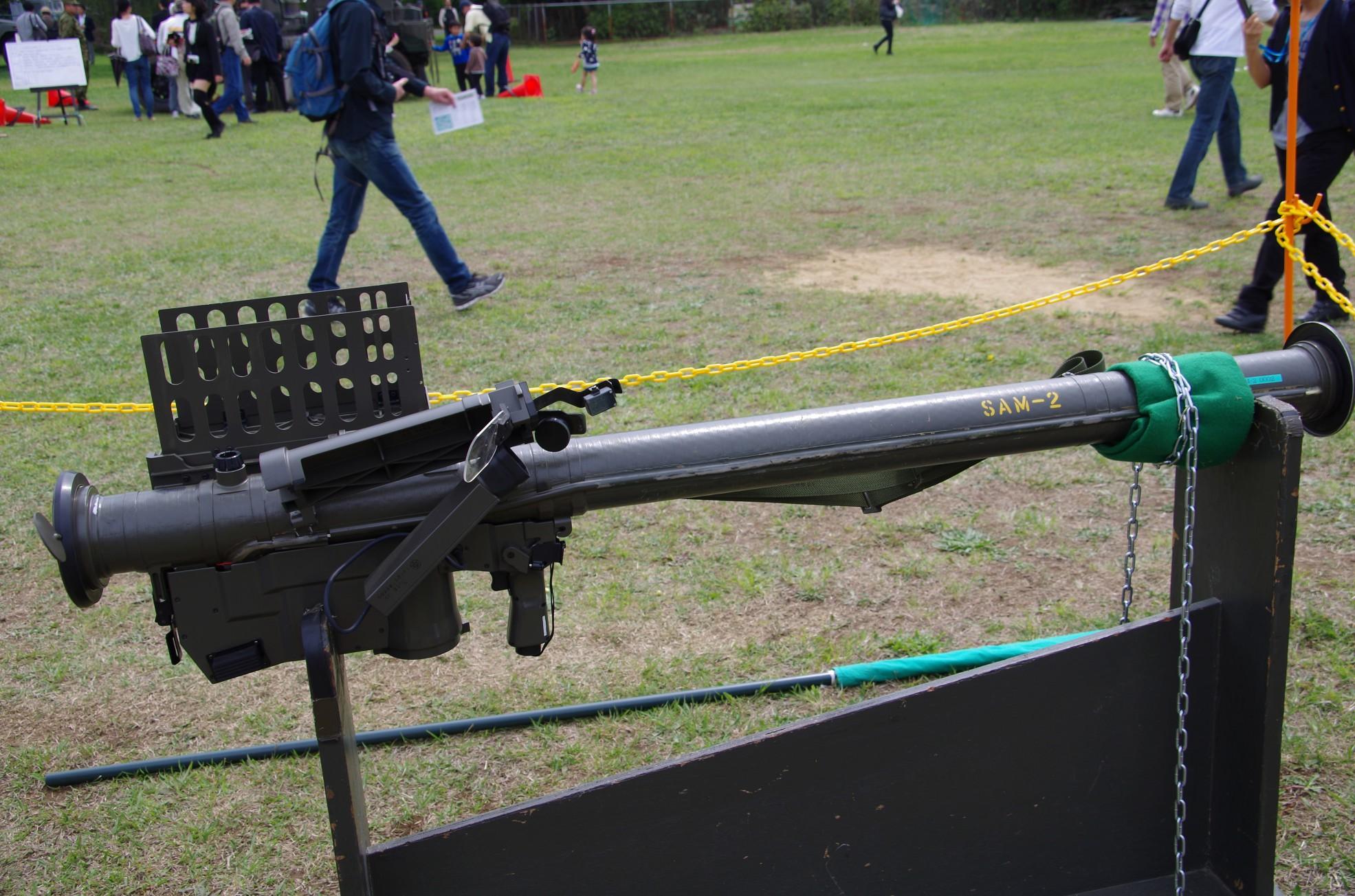 91式携帯地対空誘導弾|携SAM・SAM-2|陸上自衛隊装備品|陸自調査団